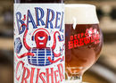 Deep Ellum Barrel Crusher American Strong Ale in WhistlePig Whiskey Barrels