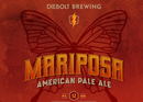 Diebolt Brewing Co. Announces Mariposa Pale Ale Can Release