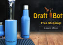 DraftBottle Releases Stainless Steel, Vacuum-Sealed Reusable Beer Bottle