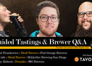 Livestream & Podcast: Michal Frankowicz Head Brewer of Fort George Brewery, Dan Cady Head Brewer of Mikkeller Brewing San Diego & Jeremy Roberts Founder of 903 Brewers