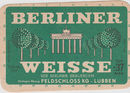 Berliner Weisse Old Advertisement