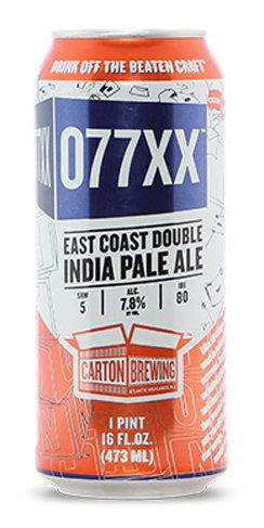077xx Double IPA Carton Brewing