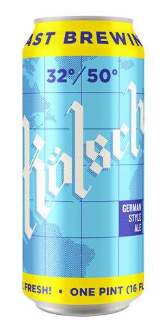 32/50 Kölsch Coast Brewing Beer