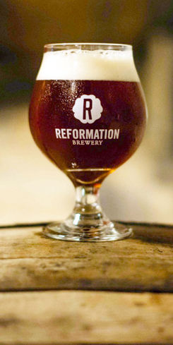 500 Quadrupel Ale by Reformation Brewery