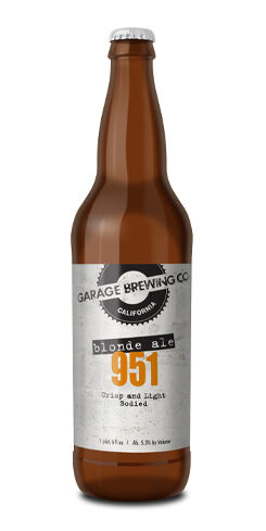 951 Blonde Ale, Garage Brewing Co.