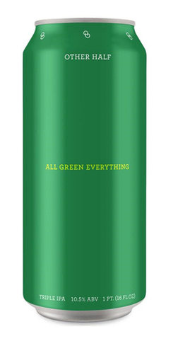 All Green Everything Other Half Brewing IPA