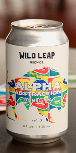 Alpha Abstraction Vol. 3, Wild Leap Brewing Co.