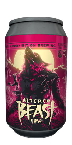 Altered Beast IPA, Southern Prohibition Brewing