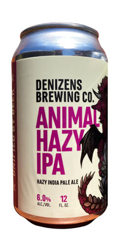 Animal Hazy IPA, Denizens Brewing Co.
