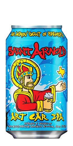 Art Car IPA Saint Arnold Beer