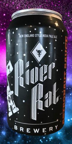 Astronaut Sauce IPA, River Rat Brewery