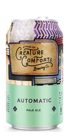 Creature Comforts Automatic Pale ale beer