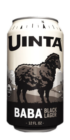 Uinta Beer Baba Black Lager
