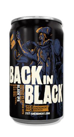 Back in Black IPA Beer 21st Amendment
