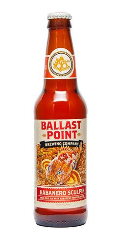Habanero Sculpin Ballast Point Beer