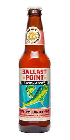 Watermelon Dorado Ballast Point Beer Double IPA