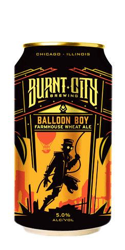 Balloon Boy Burnt City Beer