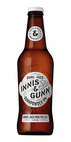 Barrel-Aged Gunnpowder IPA, Innis & Gunn Brewing Co.