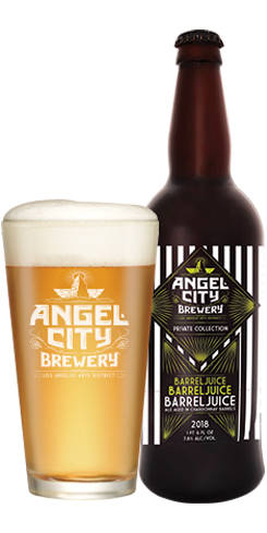 Barreljuice, Barreljuice, Barreljuice, Angel City Brewery