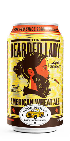 Good People Bearded Lady Wheat Beer