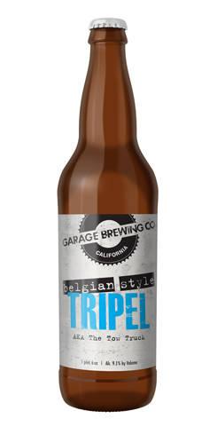 Belgian-Style Tripel, Garage Brewing Co.