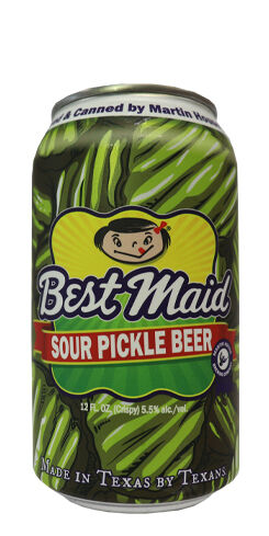 Best Maid Sour Pickle Beer, Martin House Brewing Co.