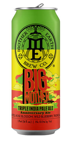 Big Mother Triple IPA, Mother Earth Brewing Co.