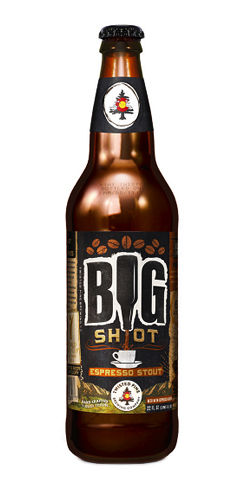 Twisted Pine Brewery Big Shot Espresso Stout beer