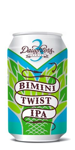 3 Daughters Bimini Twist IPA beer