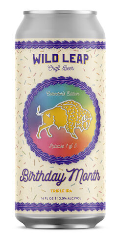 Birthday Month Triple IPA, Wild Leap Brew Co.