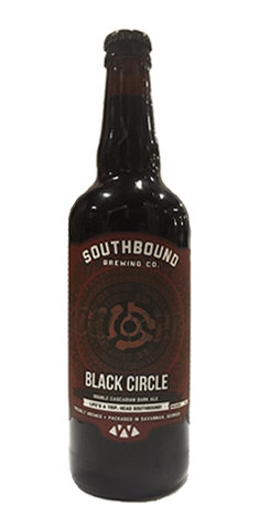 Southbound Black Circle Double Black IPA Beer