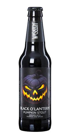 Wasatch Beer Black O Lantern Pumpkin Stout