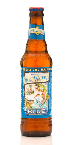Sweetwater Blue Georgia Beer