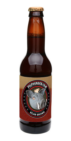 Boar Brown by Pig Pounder Brewery
