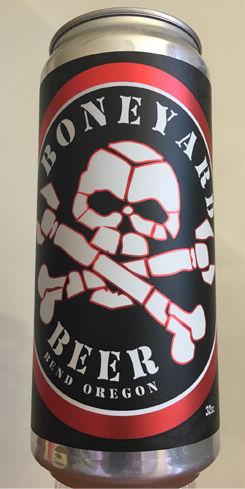 Bone-A-Fide Pale Ale by Boneyard Brewing