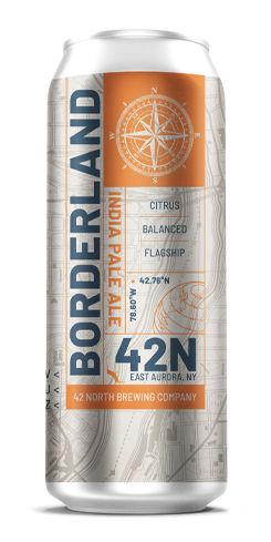 Borderland IPA, 42 North Brewing Co.