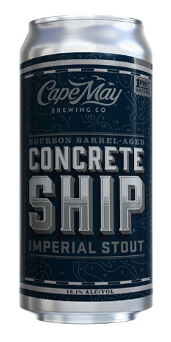 Bourbon Barrel-Aged Concrete Ship, Cape May Brewing Co.