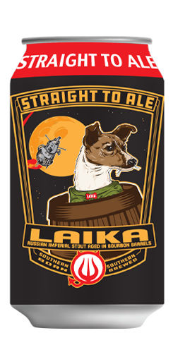 Bourbon Barrel Aged Laika, Straight to Ale