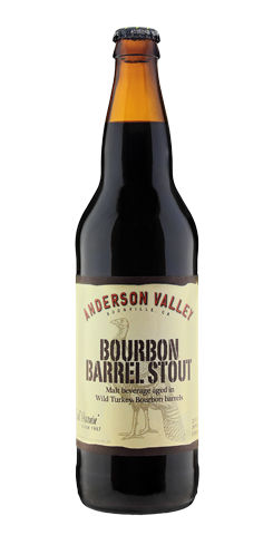 Wild Turkey Bourbon Barrel Stout by Anderson Valley Brewing Co