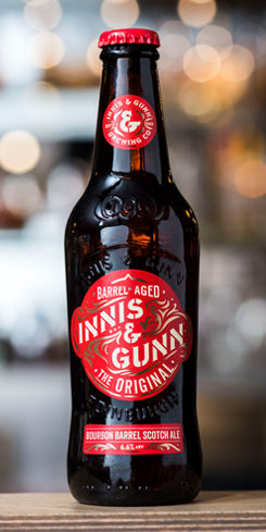 Bourbon Barrel Aged Scotch Ale by Innis & Gunn Brewing Co.