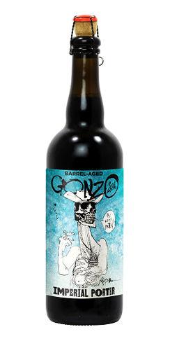 Flying dog beer Bourbon Barrel Gonzo