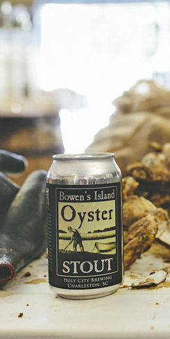 Bowens Island Oyster Stout by Holy City Brewing