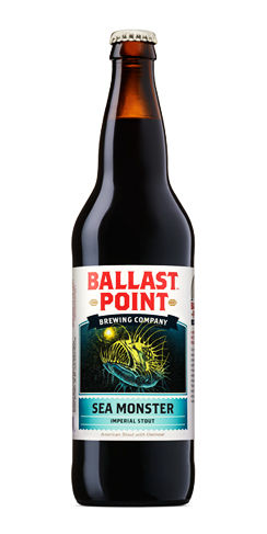 Ballast Point Beer Sea Monster Imperial Stout