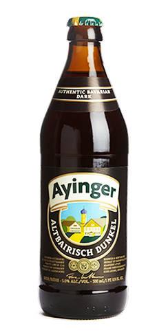 Altbairisch Dunkel Brauerei Ayinger Dunkel Beer