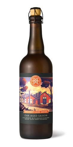 Brewery Lane Series: Oak Aged Saison by Breckenridge Brewery