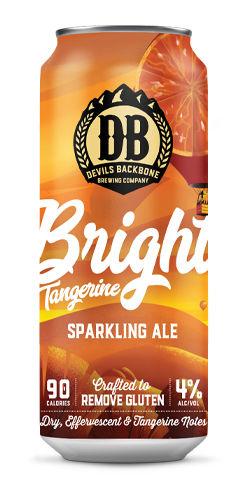 Bright Tangerine Sparkling Ale, Devils Backbone Brewing Co.