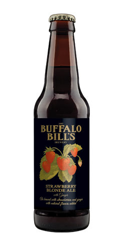 Buffalo Bill's Strawberry Blonde Ale by Buffalo Bill's Brewery