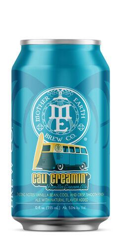 Cali Creamin' Vanilla Cream Ale Mother Earth Brew Co.