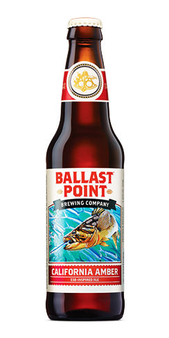 California Amber Ballast Point Beer