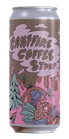 Campfire Coffee Stout, Gnarly Barley Brewing